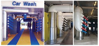 CARWASH DRYERS – Stronger, Greener, Quieter.